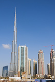 Burj Khalifa, Dubai, United Arab Emirates. Photographic Print by Bill Bachmann