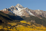 Wilson Peak on an Autumn Morning, San Juan Mountains, Colorado, USA Photographic Print by  Jaynes Gallery