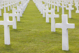 American Cemetery and Memorial, Colleville Sur Mer, Normandy, France Photographic Print by Walter Bibikow