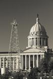 Oklahoma State Capitol Building, Oklahoma City, Oklahoma, USA Photographic Print by Walter Bibikow