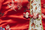 Traditional Silk Children's Attire, Macau, China Photographic Print by Cindy Miller Hopkins