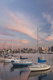 Sunset View of Marina and Downtown, San Diego, California, USA Photographic Print by  Jaynes Gallery