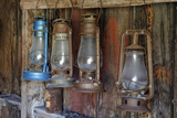 Old Fire Station Lanterns, Bodie State Historic Park, California, USA Photographic Print by  Jaynes Gallery