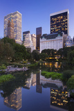 Twilight over Central Park and Manhattan, New York City, USA Photographic Print by Brian Jannsen