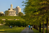 Enjoying Bicentennial Park, Nashville, Tennessee, USA Photographic Print by Brian Jannsen