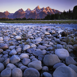 The Snake River, Teton National Park, Teton Range, Wyoming, USA Photographic Print by Charles Gurche