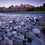 The Snake River, Teton National Park, Teton Range, Wyoming, USA Photographic Print by Charles Gurche