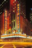 Radio City Music Hall, Manhattan, New York, USA Photographie par Peter Bennett