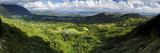 View from Nuuanu Pali State Wayside Viewpoint, Oahu, Hawaii, USA 写真プリント : チャールズ・クラスト