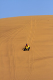 Quad Bike on Sand Dunes Between Swakopmund and Walvis Bay, Namibia Photographic Print by David Wall