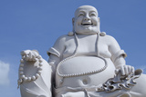 Big Happy Buddha Statue, My Tho, Vietnam Fotografisk tryk af Cindy Miller Hopkins