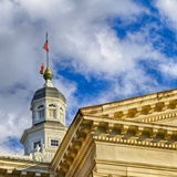 Sunset Light on the State Capitol Building, Annapolis, Maryland, USA Photographic Print by Christopher Reed