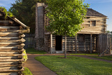 Replica of Fort Nashborough, Nashville, Tennessee, USA Photographic Print by Brian Jannsen