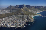 Bantry Bay, Clifton Beach, Lion's Head, Cape Town, South Africa Photographic Print by David Wall