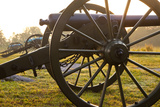 Cannons at Dawn, Stones River National Battlefield, Tennessee, USA Photographic Print by Brian Jannsen