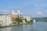 Danube River, Passau, Bavaria, Germany Photographic Print by Jim Engelbrecht