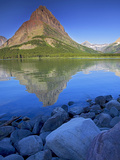 Swiftcurrent Lake, Glacier National Park, Montana, USA Photographic Print by Charles Gurche