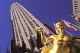 Prometheus, Rockefeller Center, Manhattan, New York, USA Photographic Print by Peter Bennett