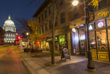 State Street in Downtown Madison, Wisconsin, USA Photographic Print by Chuck Haney