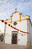 Chapel of Sao Sebastiao, Tavira, Portugal. Photographic Print by Julie Eggers