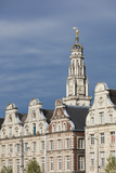 Grand Place Buildings in the Morning, Arras, Pas De Calais, France Photographic Print by Walter Bibikow