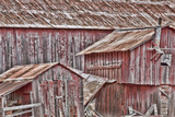 View of Old, Weathered Barn, Cambria, California, USA Photographic Print by  Jaynes Gallery
