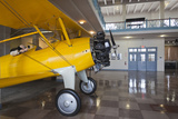 Stearman Biplane, Kansas Aviation Museum, Wichita, Kansas, USA Photographic Print by Walter Bibikow