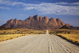 Road to Spitzkoppe, Namibia Photographic Print by David Wall