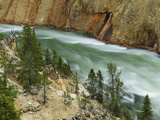 The Yellowstone River, Yellowstone National Park, Wyoming, USA Photographic Print by Charles Gurche