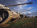 Panzer Exhibit, US Army Ordnance Museum, Aberden, Maryland, USA Photographic Print by Walter Bibikow