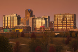 City Skyline at Dawn, Little Rock, Arkansas, USA Photographic Print by Walter Bibikow