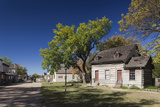 Old Cowtown Museum, Village from 1865-1880, Wichita, Kansas, USA Fotografie-Druck von Walter Bibikow