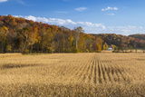 Ripe Cornfield and Barn in Brown County, Indiana, USA Photographic Print by Chuck Haney