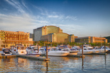 Sunset Light on National Harbor, Prince Georges County, Maryland, USA Photographic Print by Christopher Reed