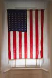 USA Flag, Little Rock, Arkansas, USA Photographic Print by Walter Bibikow
