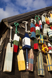 Lobster Buoys, Gloucester, Massachusetts, USA Photographic Print by Walter Bibikow