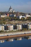 St Paul City View, Minneapolis, Minnesota, USA Photographic Print by Walter Bibikow