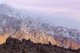 Sunrise on Sierra Mountains, Lone Pine, California, USA Photographic Print by  Jaynes Gallery