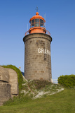 Granville Lighthouse, Granville, Normandy, France Photographic Print by Walter Bibikow