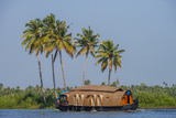 Cruise Boat in Backwaters, Kerala, India Photographic Print by Ali Kabas
