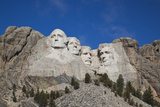 Mount Rushmore National Memorial, Keystone, South Dakota, USA Photographic Print by Walter Bibikow