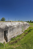 German Bunker, Merville-Franceville, Normandy, France Photographic Print by Walter Bibikow