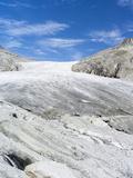 Glacier Obersulzbachkees-Venedigerkees, Salzburg, Austria Photographic Print by Martin Zwick