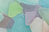Close-Up of Colorful Beach Glass, Washington, USA Photographic Print by  Jaynes Gallery