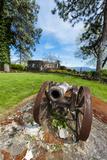 Antique Cannon, Arbor Crest Wine Cellars, Spokane, Washington, USA Photographic Print by Richard Duval