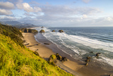 Crescent Beach at Ecola State Park in Cannon Beach, Oregon, USA Stampa fotografica di Chuck Haney