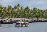 Cruise Boats in Backwaters, Kerala, India Photographic Print by Ali Kabas