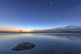 Sunrise over Yellowstone Lake, Yellowstone National Park, Wyoming, USA Photographic Print by Tom Norring