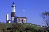 Montauk Lighthouse, Montauk Point, Long Island, New York, USA Photographic Print by Peter Bennett