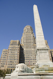 Historic City Hall, McKinley Monument Obelisk, Buffalo, New York, USA Fotografie-Druck von Cindy Miller Hopkins